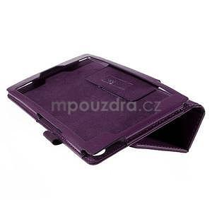 Koženkové puzdro na tablet Asus ZenPad 7.0 Z370CG - fialové - 6