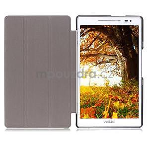 Trojpolohové puzdro pre tablet Asus ZenPad 8.0 Z380C - hnedé - 6
