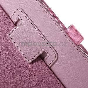 Safety polohovateľné puzdro pre tablet Asus ZenPad 8.0 Z380C - ružové - 6