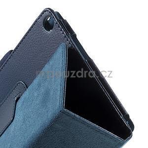Safety polohovateľné puzdro pre tablet Asus ZenPad 8.0 Z380C - tmavomodré - 6