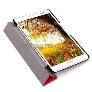Trojpolohové puzdro na tablet Asus ZenPad 8.0 Z380C - červené - 6