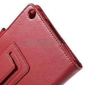 Safety koženkové puzdro na Asus ZenPad C 7.0 Z170MG - červené - 6