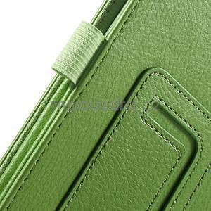 Safety koženkové puzdro na Asus ZenPad C 7.0 Z170MG - zelené - 6