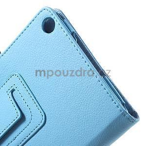 Safety koženkové puzdro na Asus ZenPad C 7.0 Z170MG - svetlomodré - 6