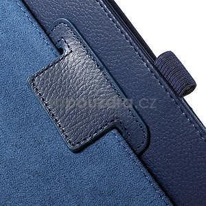 Safety koženkové puzdro pre Asus ZenPad C 7.0 Z170MG - tmavomodré - 6