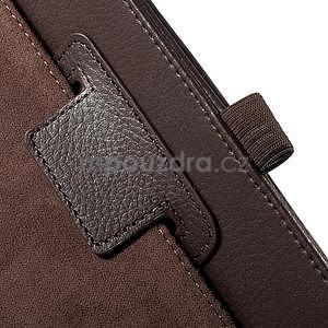 Safety koženkové puzdro na Asus ZenPad C 7.0 Z170MG - hnedé - 6