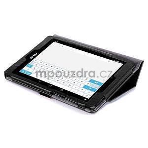 Polohovatelné koženkové puzdro na tablet Asus ZenPad S 8.0 -  čierne - 6