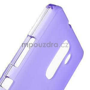 Fialové gélové puzdro pre mobil Honor 7 - 6
