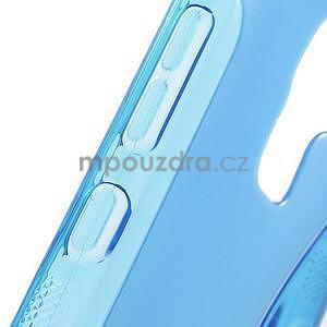 Modrý gélový kryt S-line na Huawei Honor 7 - 6