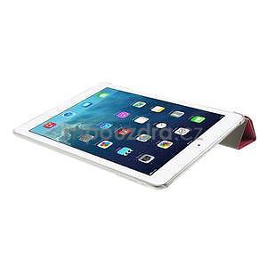 Origami ochranné puzdro pre Apple iPad Air - rose - 6