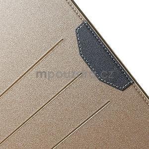 Elegant polohovateľné puzdro na iPad Air 2 -  champagne - 6