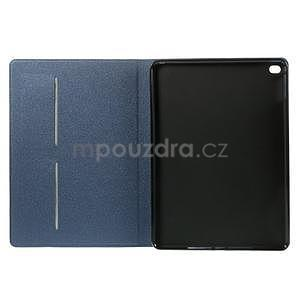 Elegant polohovateľné puzdro na iPad Air 2 - tmavomodré - 6