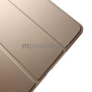 Trifold polohovateľné puzdro na iPad Air 2 - champagne - 6