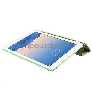 Trifold polohovateľné puzdro pre iPad Air 2 - zelené - 6