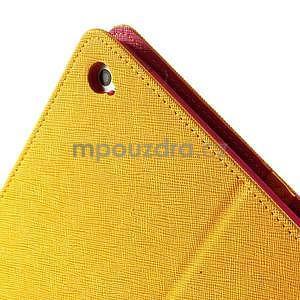 Excelent Diary puzdro pre iPad Air 2 - oranžový - 6