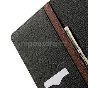 Excelent Diary puzdro pre iPad Air 2 - hnedé - 6