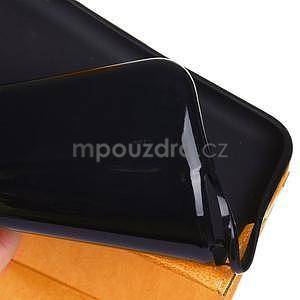 Fashion style puzdro pre iPad Air 2 - svetlohnedé - 6