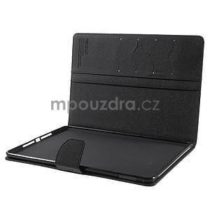 Excelent Diary puzdro pre iPad Air 2 - čierne - 6