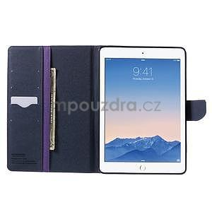 Excelent Diary puzdro pre iPad Air 2 - fialové - 6