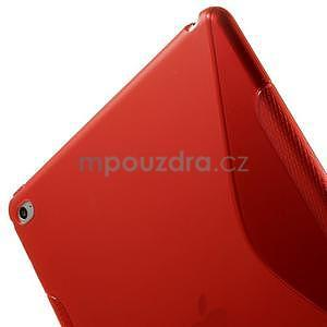 S-line gélový obal pre iPad Air 2 - červený - 6