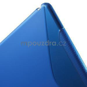 S-line gélový obal na iPad Air 2 - modrý - 6