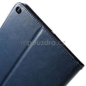 Daffi elegantné puzdro pre iPad Air 2 - tmavomodré - 6
