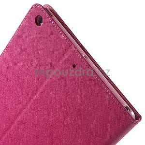 Diary peňaženkové puzdro na iPad Air - rose - 6