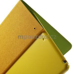 Diary peňaženkové puzdro na iPad Air - zelené - 6