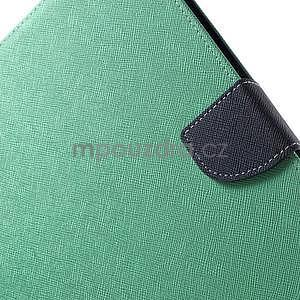 Diary peňaženkové puzdro na iPad Air - azúrové - 6