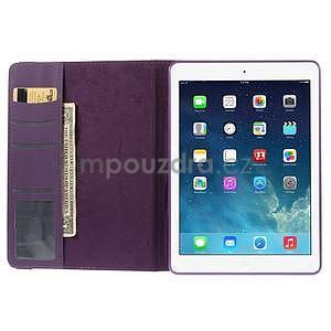 Circ otočné puzdro na Apple iPad Air - fialové - 6