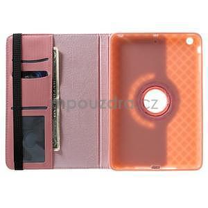 Circu otočné puzdro na Apple iPad Mini 3, iPad Mini 2 a ipad Mini - ružové - 6
