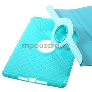 Circu otočné puzdro pre Apple iPad Mini 3, iPad Mini 2 a ipad Mini - modré - 6