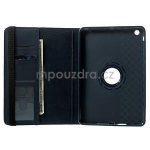 Circu otočné puzdro pre Apple iPad Mini 3, iPad Mini 2 a ipad Mini - tmavomodré - 6