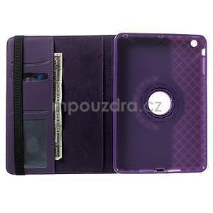 Circu otočné puzdro pre Apple iPad Mini 3, iPad Mini 2 a ipad Mini - fialové - 6