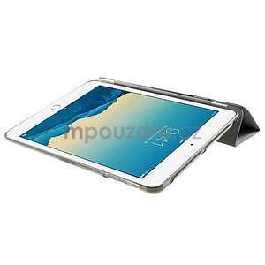 Classic tří polohové puzdro na iPad Mini 3, ipad Mini 2 a na iPad Mini -  šedé - 6