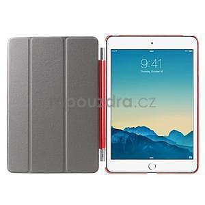 Classic tří polohové puzdro na iPad Mini 3, ipad Mini 2 a na iPad Mini -  červené - 6