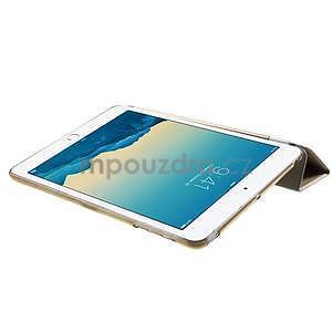 Classic tří polohové puzdro na iPad Mini 3, ipad Mini 2 a na iPad Mini -  champagne - 6