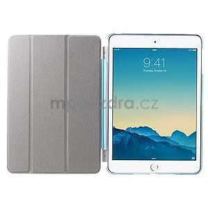 Classic tří polohové puzdro na iPad Mini 3, ipad Mini 2 a na iPad Mini -  modré - 6