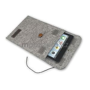 Envelope univerzálne púzdro na tablet 22 x 16 cm - coffee - 6