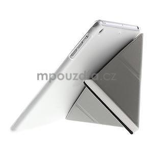 Origami ochranné puzdro iPad Mini 3, iPad Mini 2, iPad mini - čierne - 6