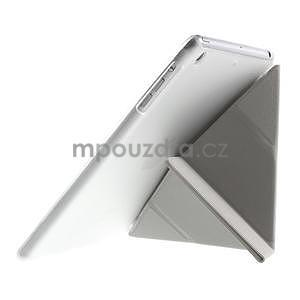 Origami ochranné puzdro iPad Mini 3, iPad Mini 2, iPad mini - biele - 6
