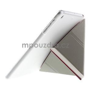 Origami ochranné puzdro iPad Mini 3, iPad Mini 2, iPad mini - ružové - 6