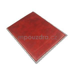 Envelope univerzálne púzdro na tablet 22 x 16 cm - červené - 6