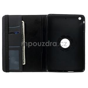 Circu otočné puzdro pre Apple iPad Mini 3, iPad Mini 2 a ipad Mini - čierne - 6
