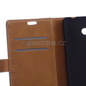 Koženkové puzdro na mobil Microsoft Lumia 640 - Eiffelovka - 6