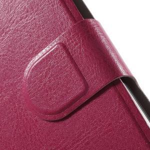 Horse peňaženkové puzdro pre Lenovo A2010 - rose - 6