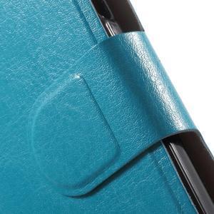 Horse peňaženkové puzdro pre Lenovo A2010 - modré - 6