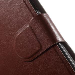 Horse peňaženkové puzdro pre Lenovo A2010 - hnedé - 6