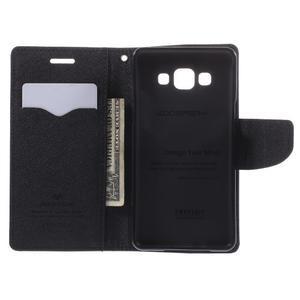 Mr. Fancy koženkové puzdro na Samsung Galaxy A5 - čierné - 6