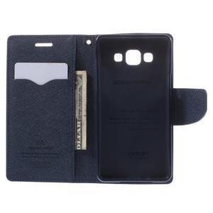 Mr. Fancy koženkové puzdro na Samsung Galaxy A5 - fialové - 6